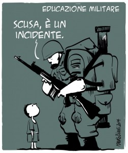 Guerra incidente educazione militare