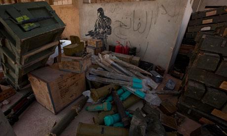 Libia Munizioni