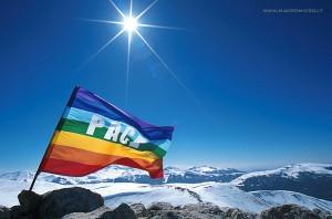 Bandiera Pace Montagna
