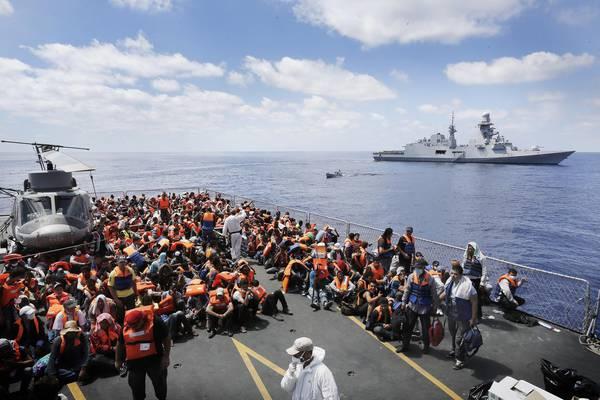 Mare Nostrum Migrazioni Europa