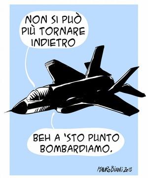 Vignetta di Mauro Biani