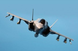 The-stealth-Lightning-II-F35-B