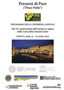 Percorsi di Pace Padova 2015