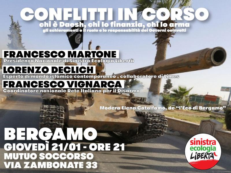 Conflitti In Corso Bergamo