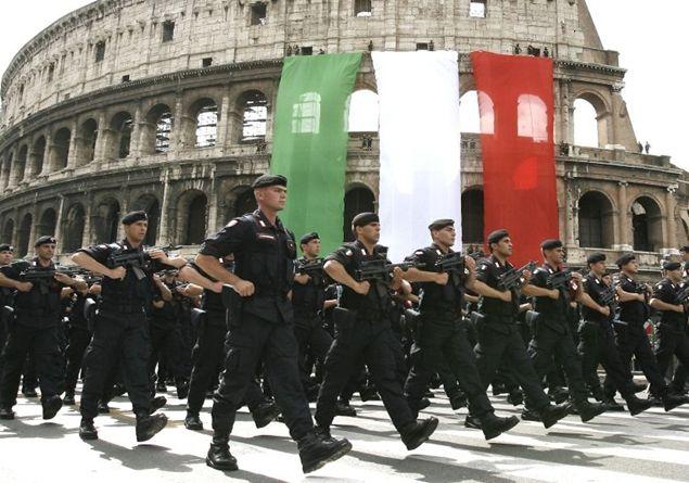 Parata militare Roma