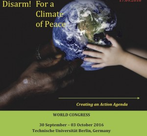 Disarm! For a climate of Peace
