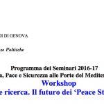 """""""Pace, guerra e ricerca. Il futuro dei 'Peace Studies' in Italia"""""""