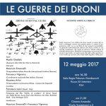 Le guerre dei droni, il 12 maggio a Pisa