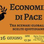 Economie di Pace, venerdì 16 giugno a Trento