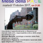 Dibattito sul Mercato delle armi, a Rescaldina