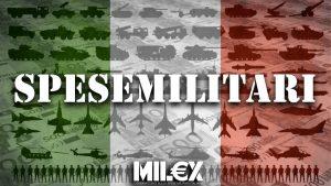Spese militari Italia Milex