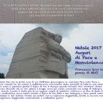 Auguri nonviolenti per il Natale 2017, con Martin Luther King