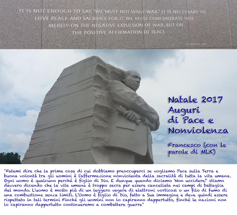 MLK auguri Natale 2017