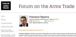 Nel Forum Arms Trade