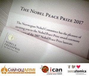 invito Nobel 10 Dicembre