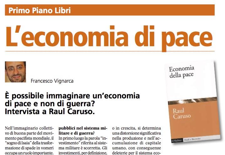 Economia pace Raul Caruso