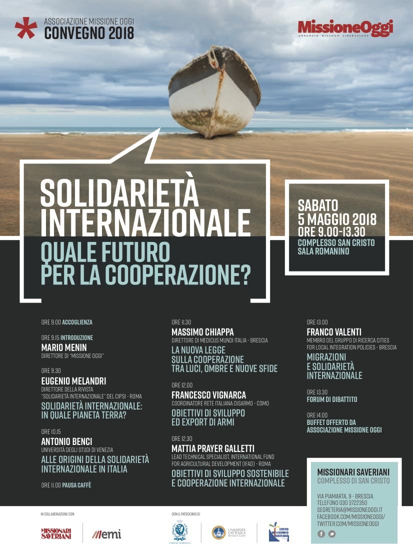 Convegno MO 2018 quale futuro cooperazione