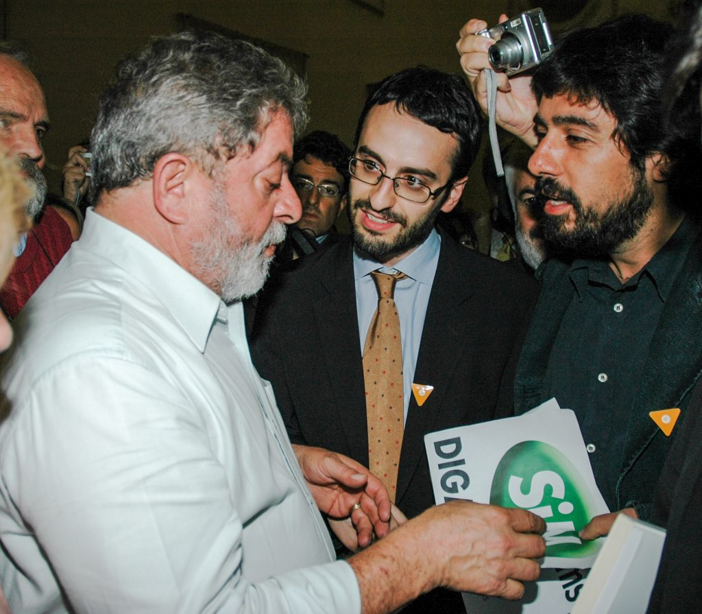 Lula Vignarca Troisi referendum disarmo 2005