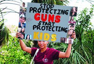 Usa, la protesta degli studenti contro le armi