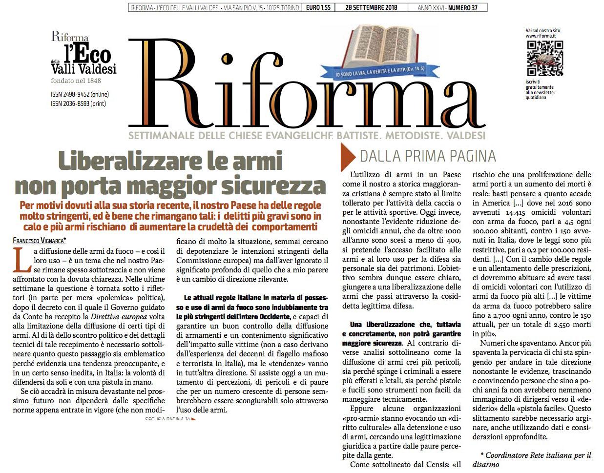 RIFORMA_Vignarca
