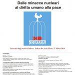 Dalle minacce nucleari al diritto umano alla pace