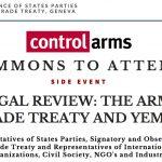 Alla Conferenza Stati Parte del Trattato ATT, a Ginevra