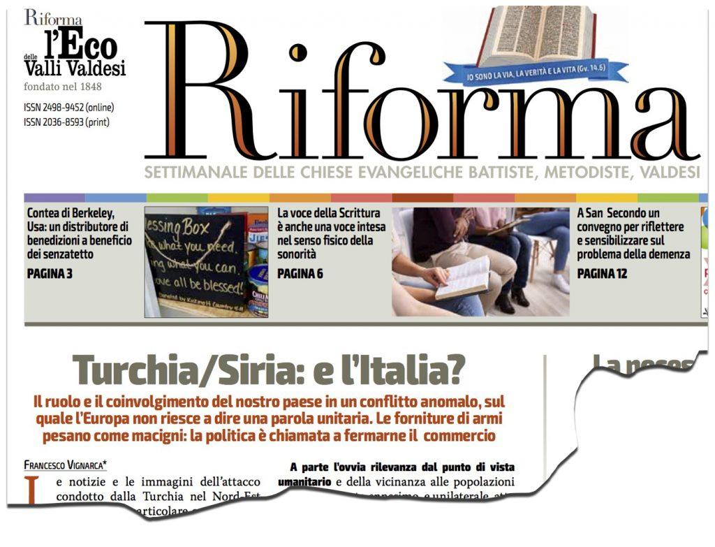 Turchia/Siria: e l'Italia?