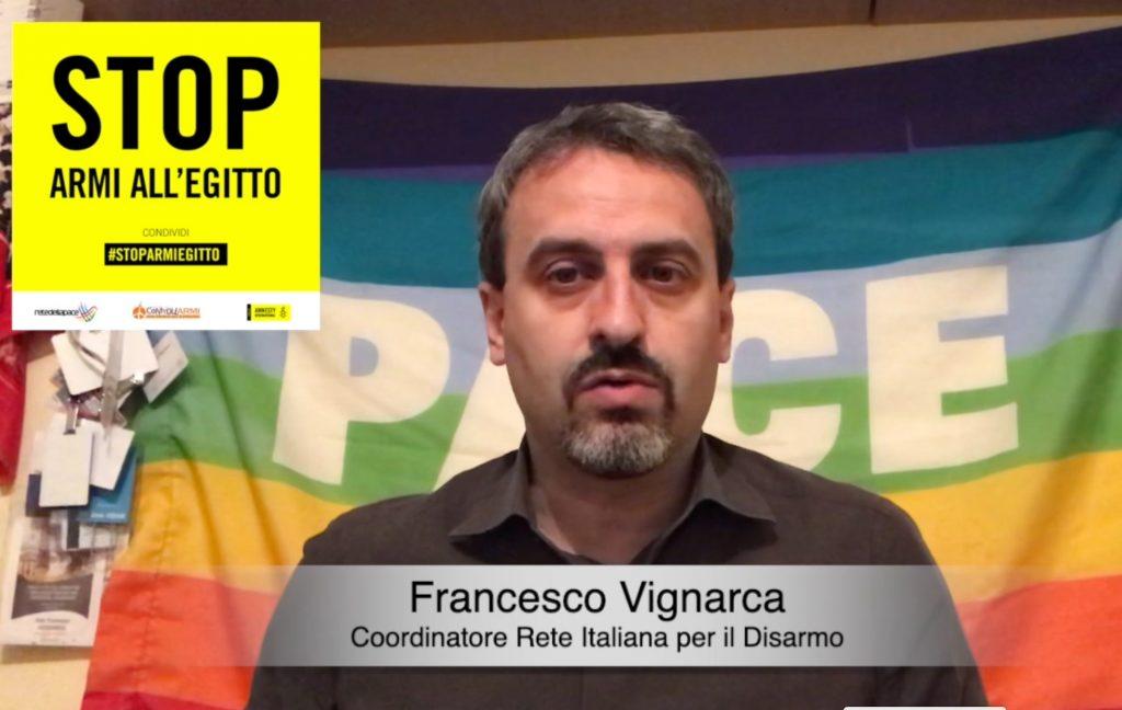 Francesco Vignarca per #StopArmiEgitto