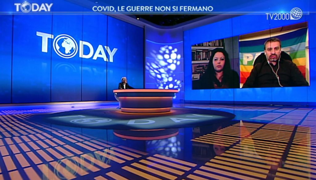 Covid, le guerre non si fermano. A Today su Tv2000